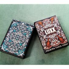 Set of 2 New LUXX™ Playing Cards Deck by Randy Butterfield - Limited Rare