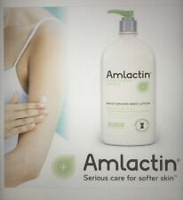 AmLactin Alpha Hydroxy Therapy BODY LOTION EXTRA DRY Scaly Skin HUGE 20 Oz