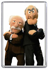 Statler and Waldorf, Muppets Fridge Magnet 01