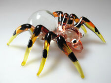 WILD SPIDER CRAFT MINIATURE HAND BLOWN GLASS FIGURINE COLLECTION