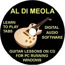 Al Di Meola 39 Guitar Tabs Software Lesson CD, 2 Backing Tracks & Free Bonuses