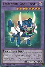 YU-GI-OH ULTRA RARE CARD: FRIGHTFUR SABRE-TOOTH - MP16-EN137 - 1ST EDITION