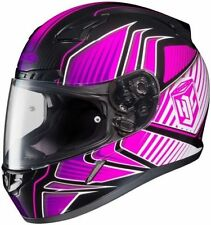 HJC CL-17 Ladies Full Face Helmet Redline Graphic MC-8 Pink Size Extra Small