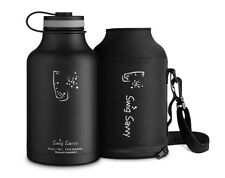 64oz Vacuum Insulated Water Bottle Stainless Steel Hot And Cold Beverage Tumbler
