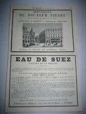 Pub 1878 - Béal / Docteur Pierre Fabricant Dentifrices