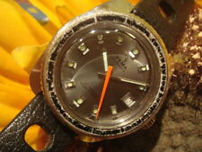 VINTAGE YEMA SOUS MARINE AUTOMATIC DIVER WATCH WITH TROPIC STRAP