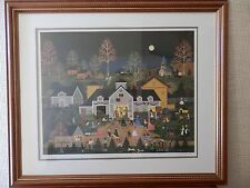 Jane Wooster Scott Swing Your Partner - Lithograph PS&N - Framed & Matted
