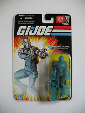 GI Joe 25th Anniversary Cobra Mercenary: Wraith v1b 2008 MOC Translucent Blue