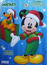 Disney Mickey Mouse Coloring Book ~ Merry Mickey! ~ FREE SHIPPING