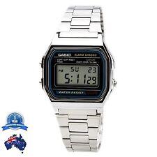 GENUINE CASIO VINTAGE Retro 80's Classic Digital Watch A158WA-1 Fast Shipping AU