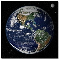 The Planet Earth Space Universe Art Wall Silk Poster 24x24 inch