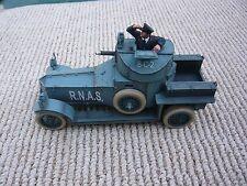 John Jenkins WWI Rolls Royce Armoured car RNAS with  optional crew member