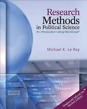 Research Methods in Political Science (with MicroCase Printed Access Card) by...