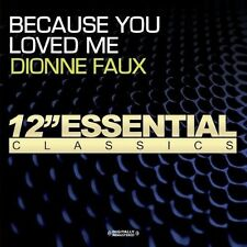 Because You Loved Me - Dionne Faux (2013, CD NIEUW) CD-R