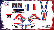 GASGAS EC250/300 GRAPHICS KIT 2010-2011 Customised motocross graphics