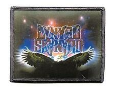 OFFICIAL LICENSED - LYNYRD SKYNYRD - EAGLE LOGO PRINTED WOVEN PATCH ROCK