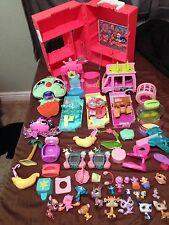 Littlest Pet Shop Mixed Lot of Accessories Replacement Parts And Pets