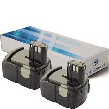 Lot de 2 batteries 18V 3000mAh pour Hitachi DS18DL  - Société Française -