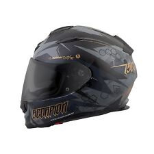 SCORPION EXO-T510 Cipher Sport Touring Motorcycle Helmet Black SIZE MEDIUM
