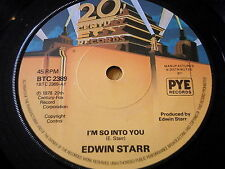"EDWIN STARR - I'M SO INTO YOU    7"" VINYL"