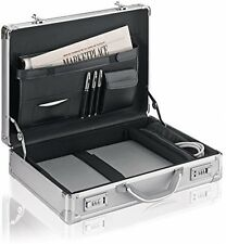 17 inch Laptop Briefcase Hard Aluminum Attache Men Women Executive Case Travel