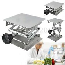 4x4'' Stainless Steel Scientific Lab Stand Lifting Platform Stand Rack Lab-Lift
