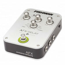 Fishman AFX Delay Acoustic Effects Pedal B-STOCK - The Best!