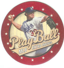 2004 Eric Gagne Los Angeles Dodgers Directv Play Ball MLB Extra Innings Coaster