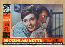 GLI OCCHI DELLA NOTTE fotobusta poster affiche Audrey Hepburn Wait Until Dark