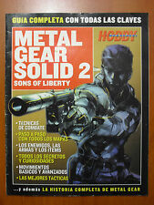 Guía completa Metal Gear Solid 2: Sons of Liberty (PS2 PS3 PSVita XBOX 360 PC)