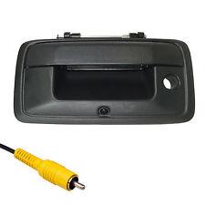 Chevrolet Silverado Sierra Black Tailgate Handle Color Backup Camera 2014-2015