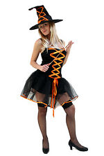 Kostüm SEXY & WICKED Witch Hexe Fee Halloween Gr.38 NEU