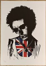 PAUL INSECT - DEAD REBELS SID, NUMBERED EDITION OF 200 SOLD OUT 2006 PRINT