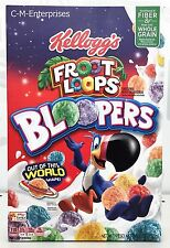 Froot Loops Bloopers Cereal 9.3 oz Kellogg's