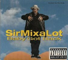 Sir Mix a Lot : Baby Got Back / Cake Boy / You Cant Slip CD (1992)