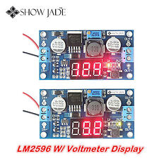 2pc LM 2596 Adjustable Voltage Power Supply LED Step Down Converter for Arduino