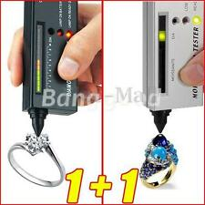 V2 Diamond Tester II & Moissanite Selector Gemstone Jewelry Gems Tool LED Set