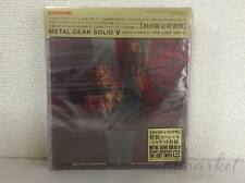 Metal Gear Solid 5 V Soundtrack Lost Tapes CD Cassette from Japan F/S