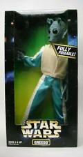 """NEW STAR WARS GREEDO Action Collection Figure 1997 Poseable Kenner 12""""MIB Unisex"""
