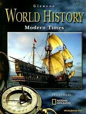 Glencoe World History Modern Times, Student Edition McGraw-Hill Hardcover