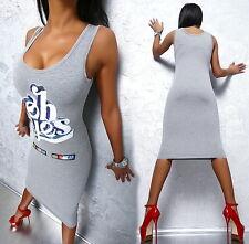 BEST SELLER! NEU SUPER SEXY FIT G33 PALLETTEN STRETCH DAMEN TOP DRESS KLEID L/XL