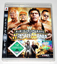 WWE - LEGENDS OF WRESTLEMANIA - PLAYSTATION 3 PS3 - NEUWERTIG - WRESTLING