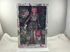 Tokidoki BARBIE Tattoo 2nd Edition PINK NIB Box has teensy back corner flaw