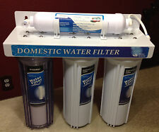 Under Sink Four Stage Domestic Water Filter System