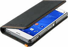 GENUINE SONY XPERIA Z5 COMPACT ROXFIT PREMIUM SLIM BOOK CASE COVER | BLACK
