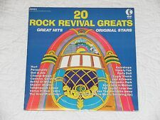 K-tel 20 Rock Revival Greats LP NI4750 1976