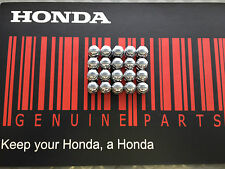 GENUINE HONDA Wheel Nut set, Chromed. 35mm Accord, Civic, CRV etc *FREE POSTAGE*