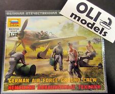 1/72 WW2 German Air Force Ground Crew FIGURES SET - Zvezda 6188