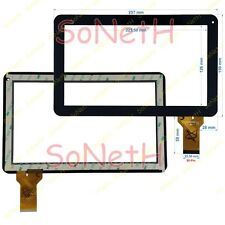 """Vetro Touch screen Digitizer 10,1"""" MA DH-1007A4-PG-FPC033-V2.0 Tablet PC Nero"""