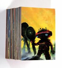 The Sci-Fi Art of CHRIS FOSS 1995 FPG Complete 90 Base Cards Set NM